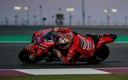Miller miglior tempo con Ducati e nuovo record a Losail