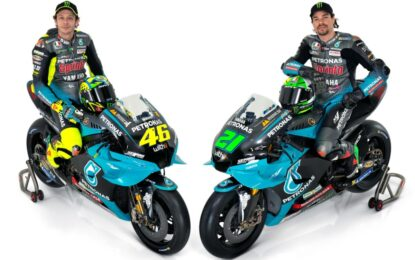 MotoGP: Morbidelli e Rossi presentano la Yamaha YZR-M1 2021