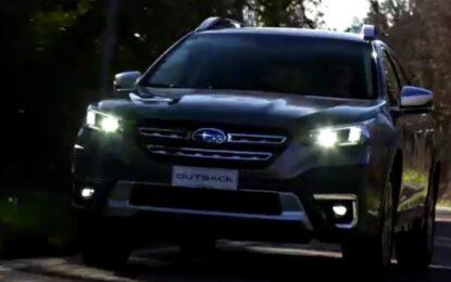Fotogallery: presentazione Nuova Subaru Outback