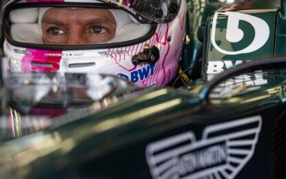 """Vettel: """"Inizio non facile, ma niente panico"""""""