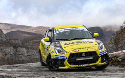Suzuki Rally Cup: duelli aperti al 68° Rallye Sanremo