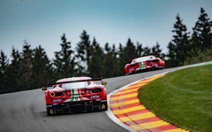 WEC: prima fila per Ferrari alla 6 Ore di Spa