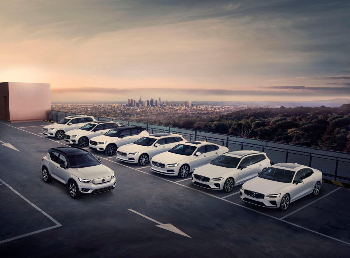 Volvo unico costruttore ad avere l'intera gamma certificata Top Safety Pick Plus