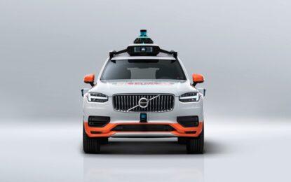 Volvo Cars e DiDi per creare una flotta di prova di veicoli a guida autonoma