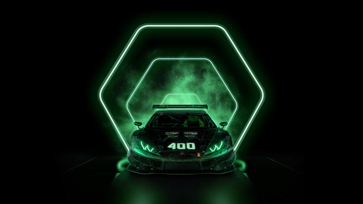 Lamborghini festeggia 400 Huracán da corsa