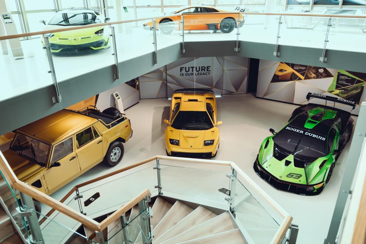 Lamborghini: il MUDETEC riapre con una mostra tra innovazione e tradizione