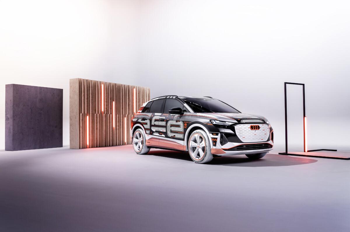 Audi Q4 e-tron in anteprima mondiale live a Milano