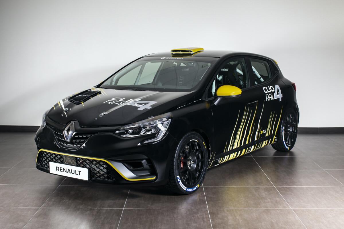 Clio Rally4: debutto alla Targa Florio con Paolo Andreucci