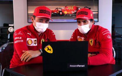 Piloti Ferrari incuriositi dal nuovo format della sprint race