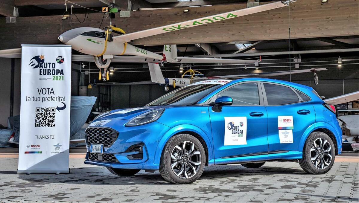 Auto Europa 2021: Ford Puma riceve il premio assegnato dagli Opinion Leader
