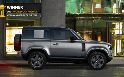 Alla Land Rover Defender il World Car Design of the Year