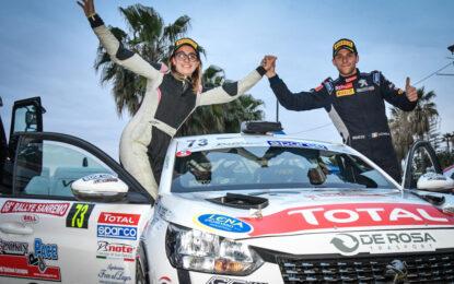 Peugeot Competition: a Sanremo brillano Farina, Lucchesi e le 208