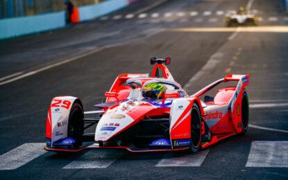 Formula E: Mahindra sul secondo gradino del podio a Roma