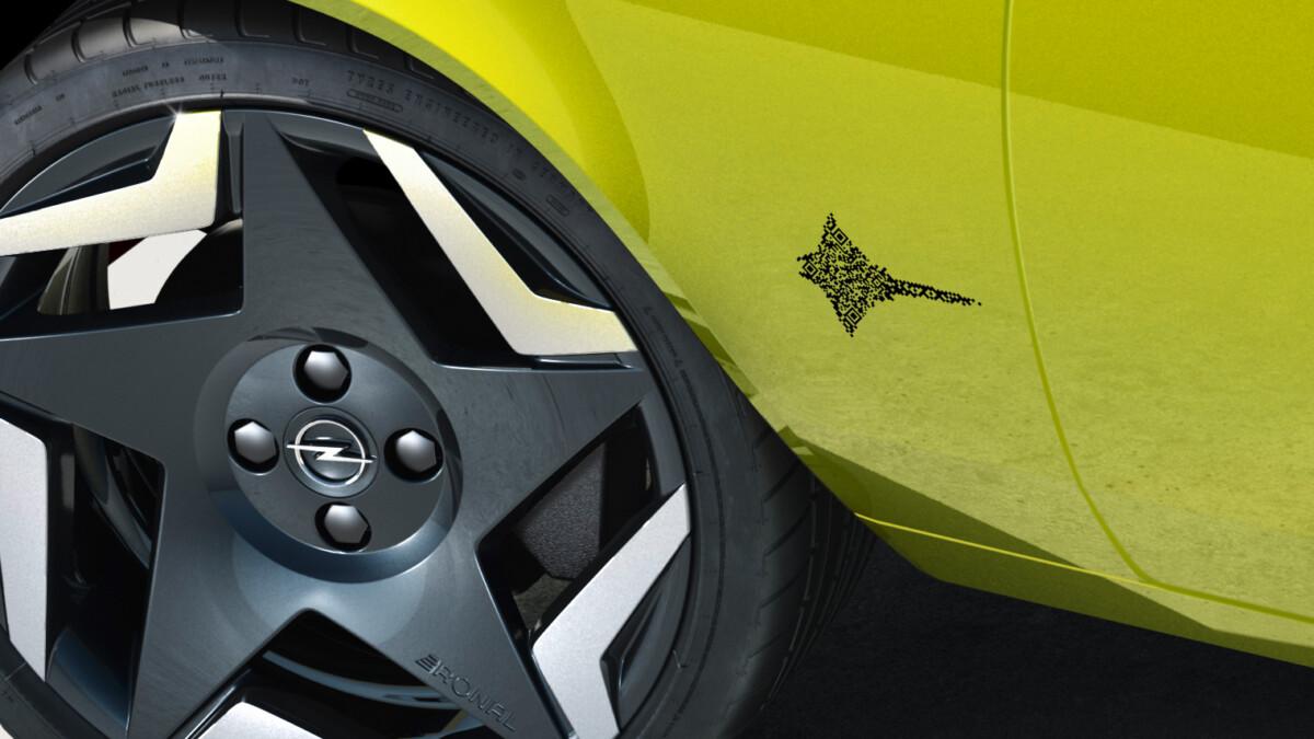 Opel digitalizza i nomi dei propri modelli con il QR Code