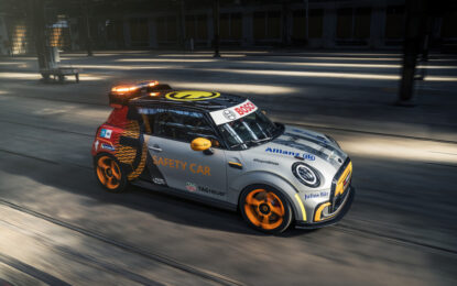MINI Electric Pacesetter: la nuova safety car della Formula E