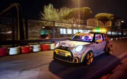 MINI Electric Pacesetter e metropolitana di Roma: sfida elettrica