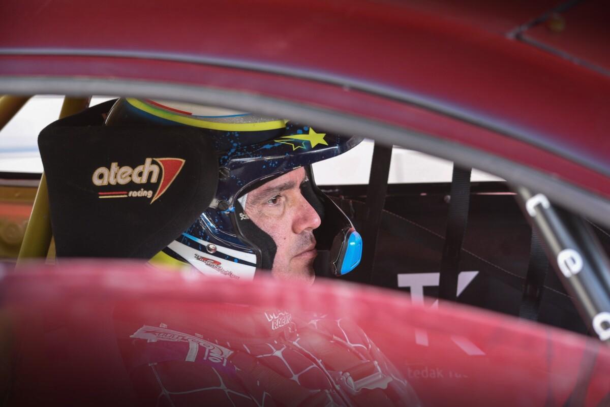 Paolo Diana al debutto nell'Italiano Rallycross