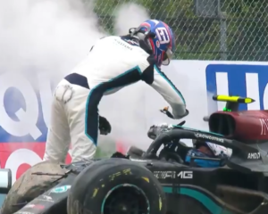 Russell vs Bottas: la reazione oltre l'incidente