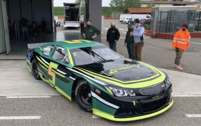 Nascar Whelen Euro Series: test in Italia per Jacques Villeneuve