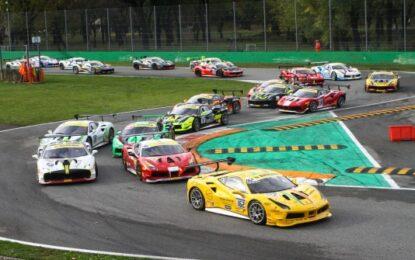 Il Ferrari Challenge apre la stagione sportiva di Monza