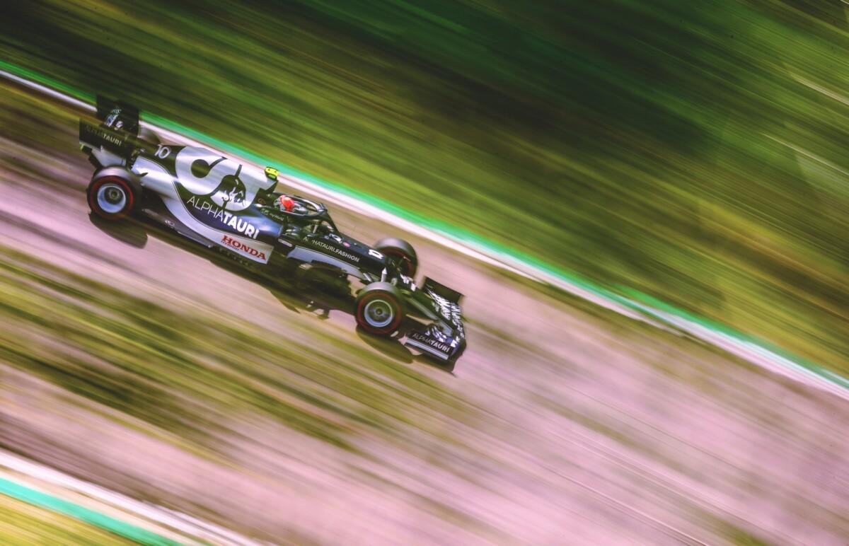 Scuderia AlphaTauri alla vigilia del GP del Portogallo