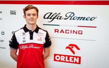 Ilott Reserve Driver Alfa Romeo Racing. In pista venerdì in Portogallo