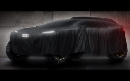 Trazione full electric per Audi alla Dakar 2022