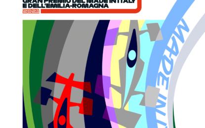 Il poster ufficiale del GP dell'Emilia Romagna 2021