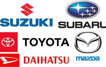 Accordo Suzuki, Subaru, Toyota, Mazda per sviluppo sistemi di comunicazione