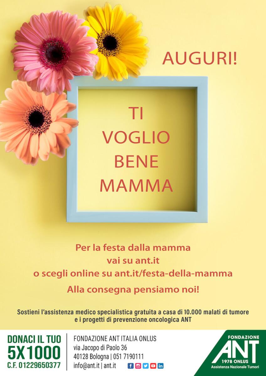 Festa della Mamma nel segno della solidarietà con ANT