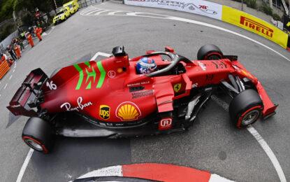A Monaco pole con la Red Soft. Strategia per la gara a una sosta