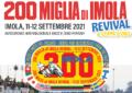 A settembre la 200 Miglia di Imola Revival & Coppa d'Oro 2021