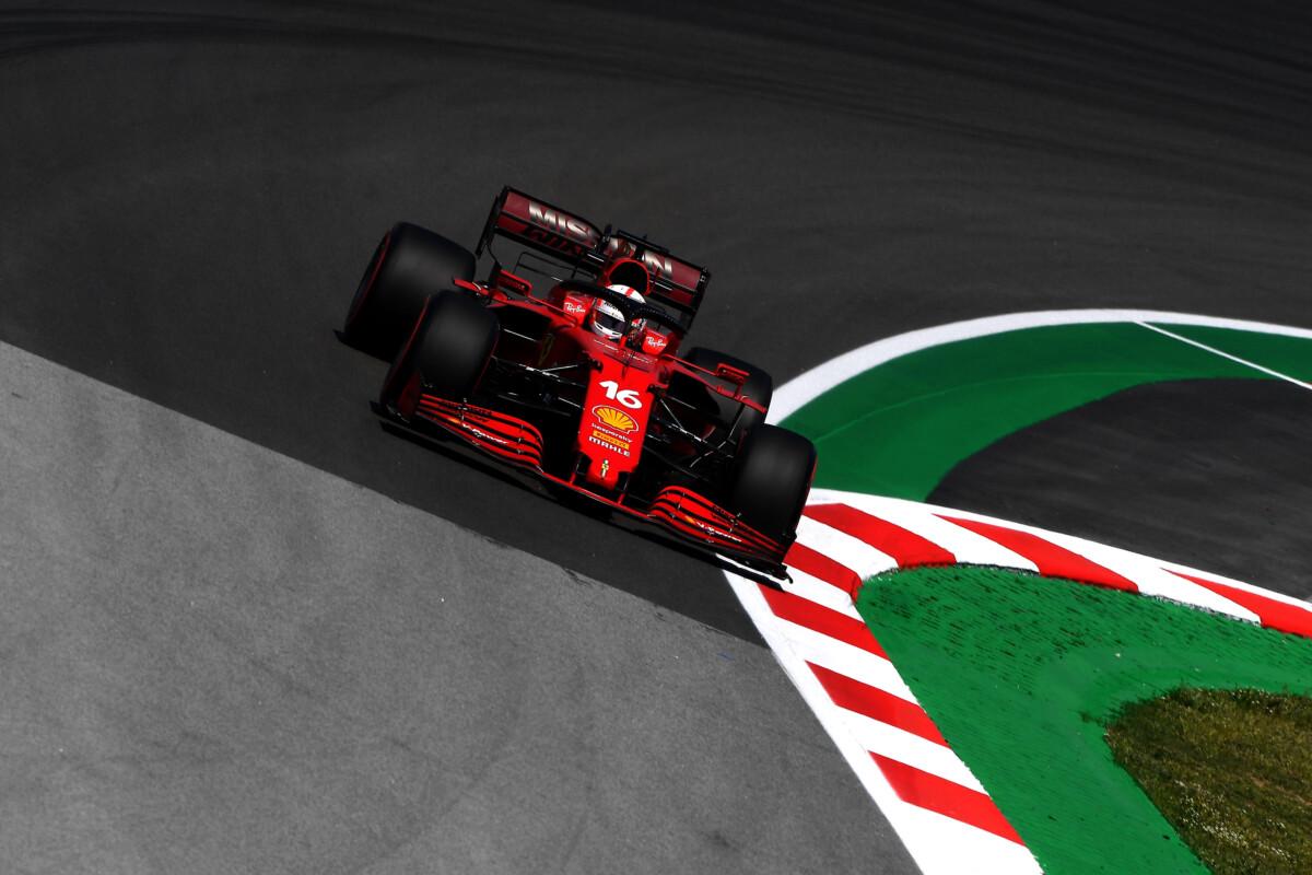 Dopo le libere in Spagna Leclerc ottimista, Sainz meno