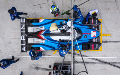 Alpine: il sedile, elemento essenziale nel motorsport