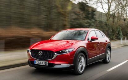 Mazda CX-30 2021: i migliori quattro mesi di sempre