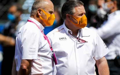 McLaren: tre membri del team positivi al Covid-19, incluso Zak Brown