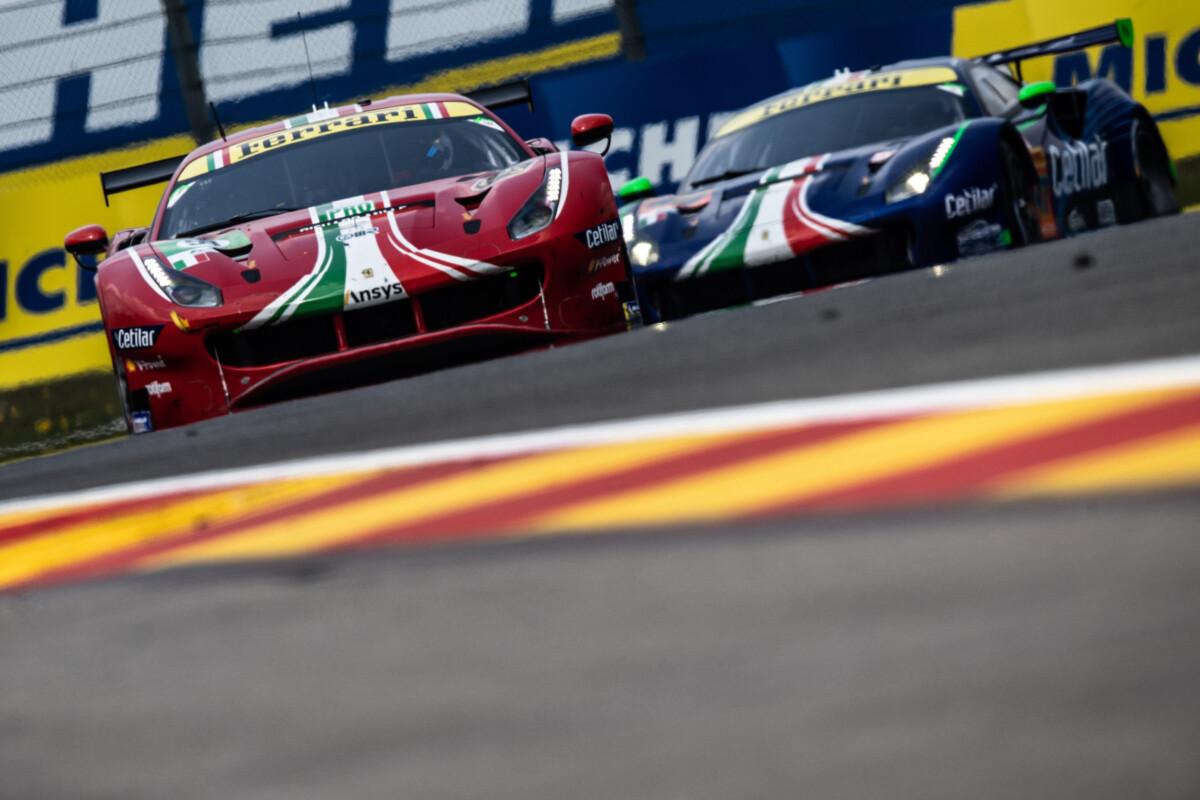 WEC: doppio podio con vittoria per Ferrari alla 6 Ore di Spa