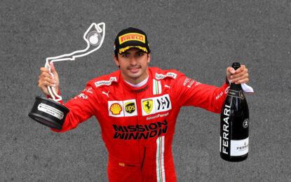 A Monaco primo podio in Ferrari per Sainz. Amarezza per Leclerc