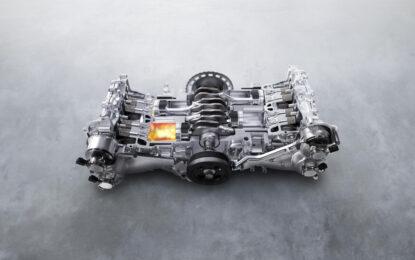 55 anni di motori Boxer Subaru
