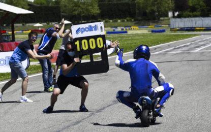 Valerio Boni vince la sfida del Guinness World Records