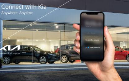 Kia Service: nuova APP con guida vocale per i servizi di assistenza