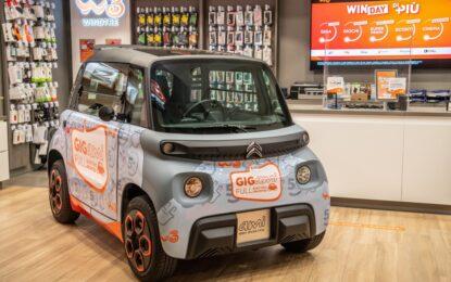Citroën e WINDTRE: partnership per il lancio di Ami – 100% ëlectric