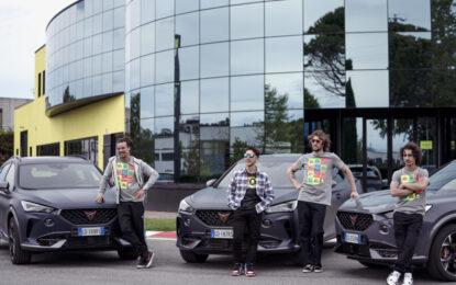 CUPRA Italia official automotive partner di VR46 Riders Academy