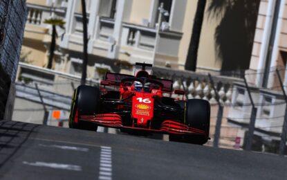 A Monaco il giovedì si chiude con le Ferrari davanti a tutti