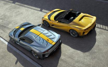 Ferrari 812 Competizione e 812 Competizione A