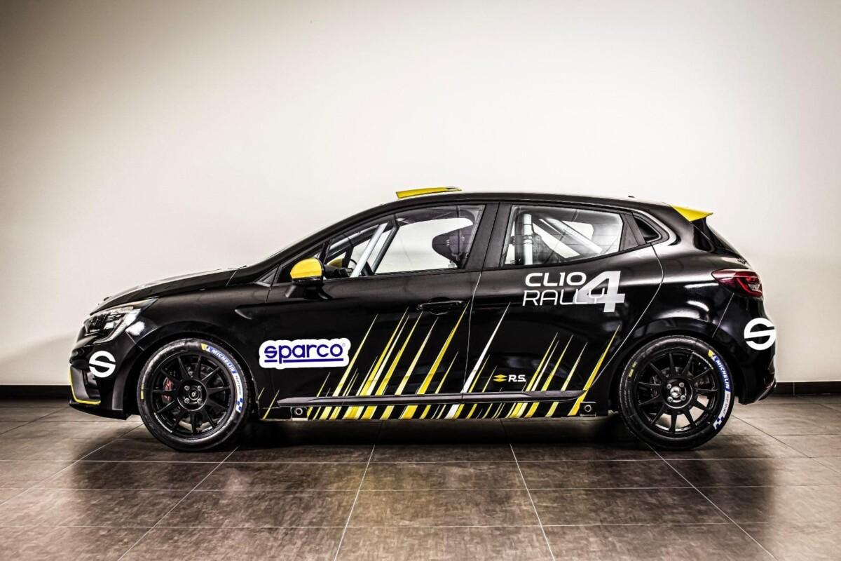 Sparco con Andreucci e Renault Clio Rally4 alla Targa Florio