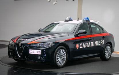 L'Alfa Romeo Giulia per l'Arma dei Carabinieri