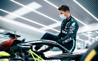 Grosjean e un ritorno speciale in F1 al volante della Mercedes