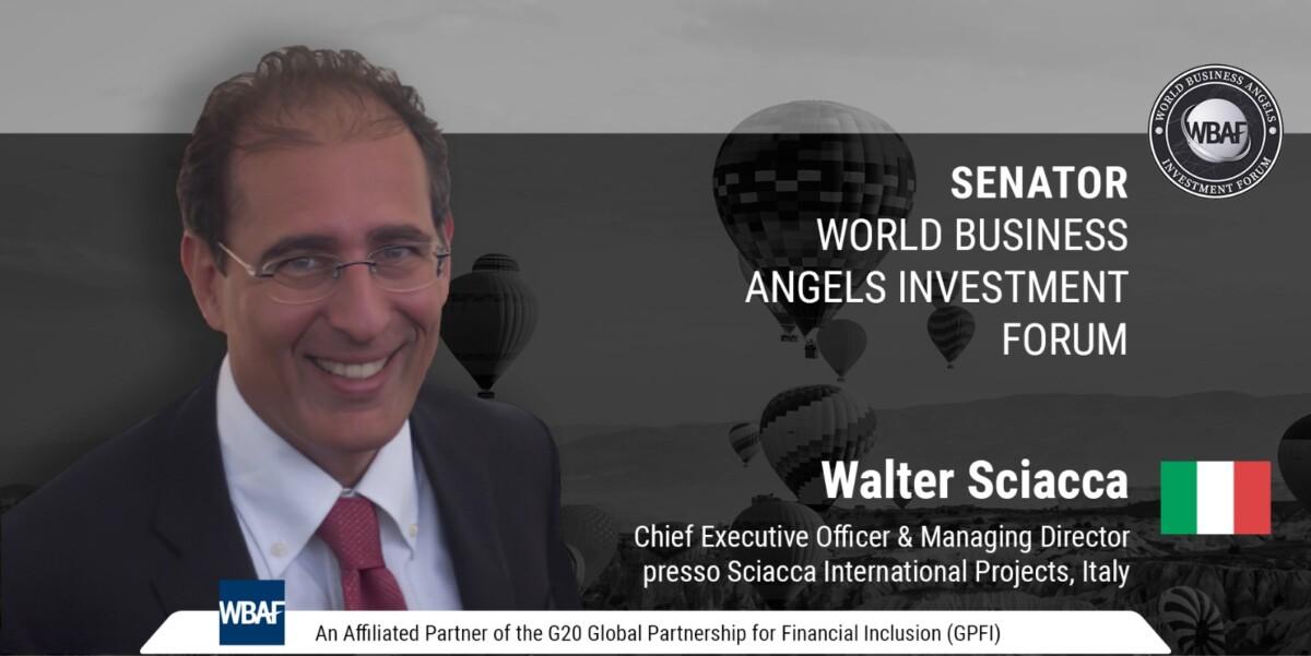 Walter Sciacca rappresenterà l'Italia all'Assemblea Mondiale WBAF