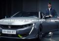 Novak Djokovic per la comunicazione di Peugeot 508 PSE